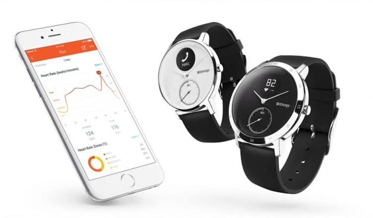 withings-steel-hr withings-steel-hr montre connectée wearable