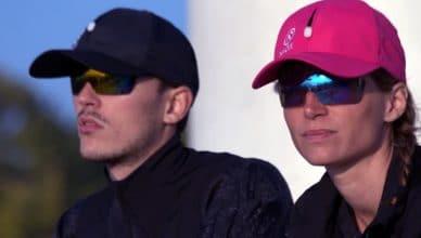 Naox cap casquette lunettes de soleil intégrée, triathlon, running, coourse à pied